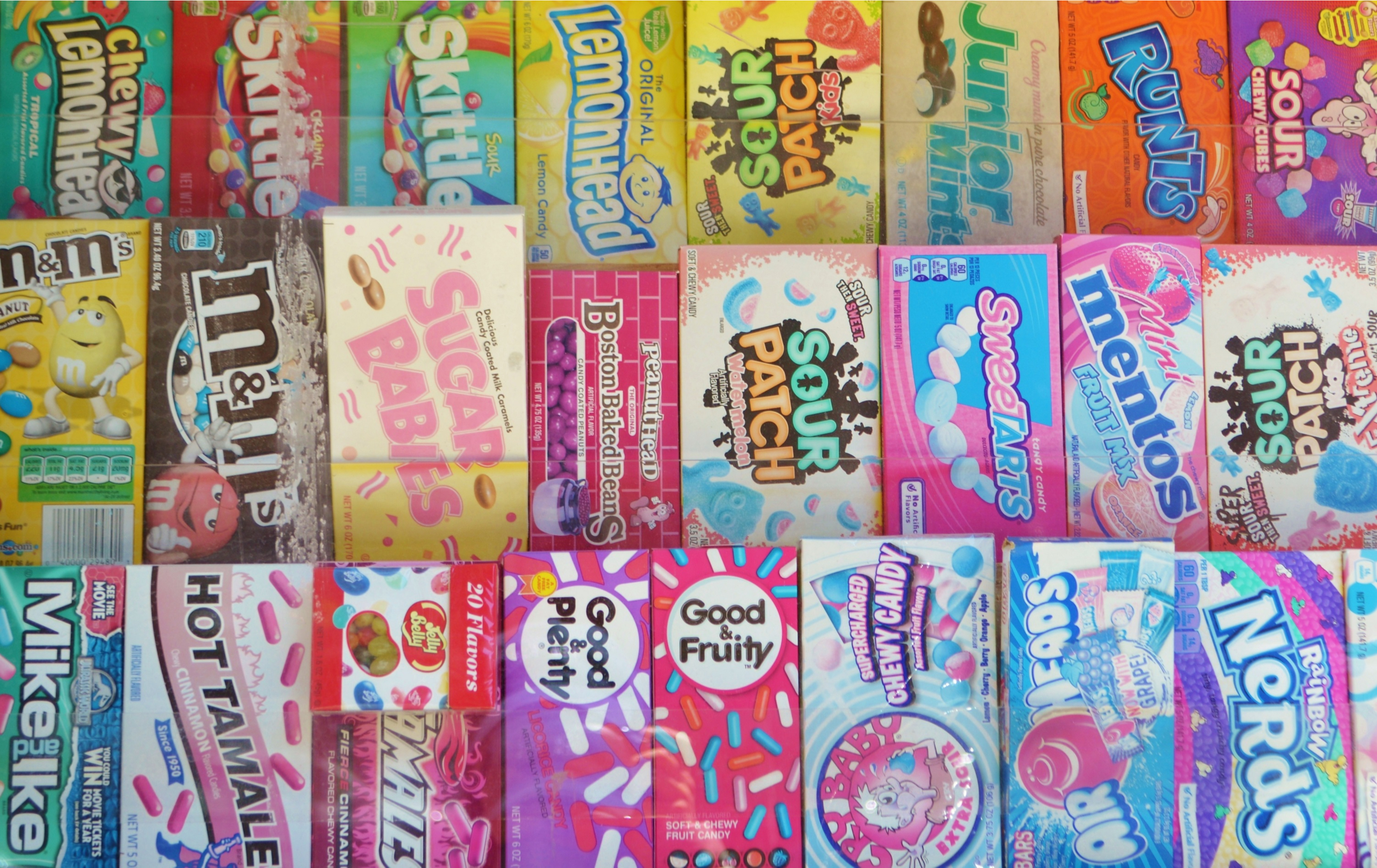 Do you have a favorite candy from a certain decade? Throw a decade party for New Years Eve and have your favorite candy there to help celebrate.