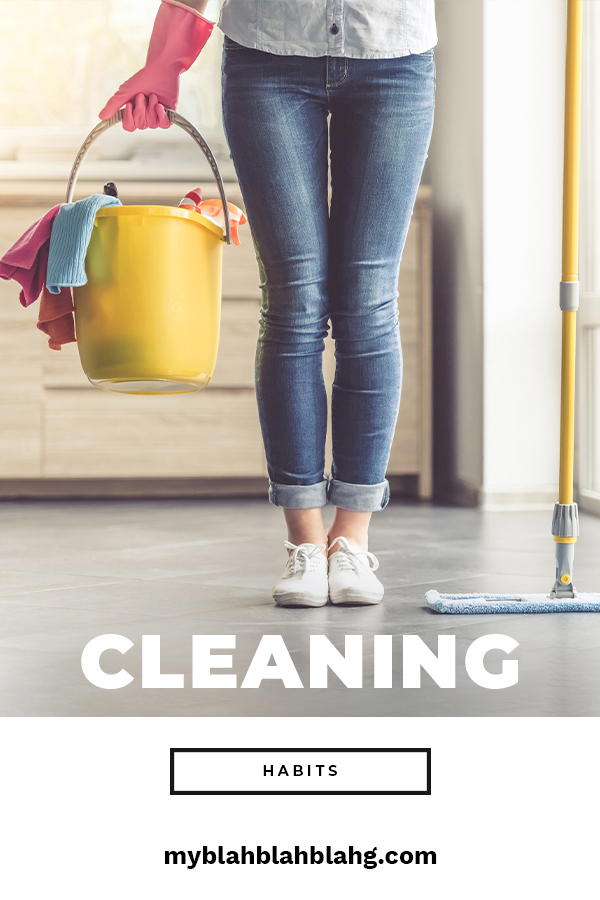 There's no better time than now to start adopting cleaning habits that work. Learn more about daily cleaning habits, habits for kids, the home and more. Habits are hard to break so why not establish good cleaning habits. Keep reading to learn how easy this really is. #cleaninghabits #dailycleaninghabits