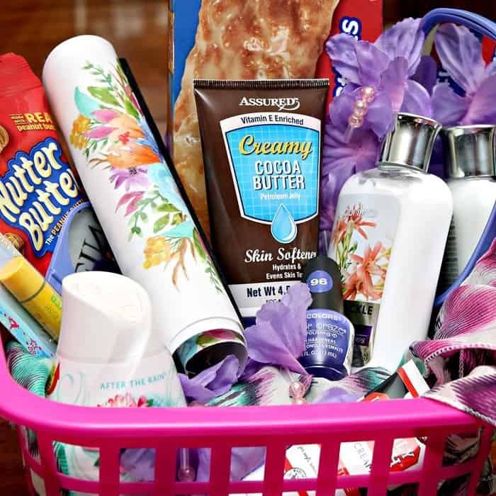 Summer Gift basket ideas- Dollar stores