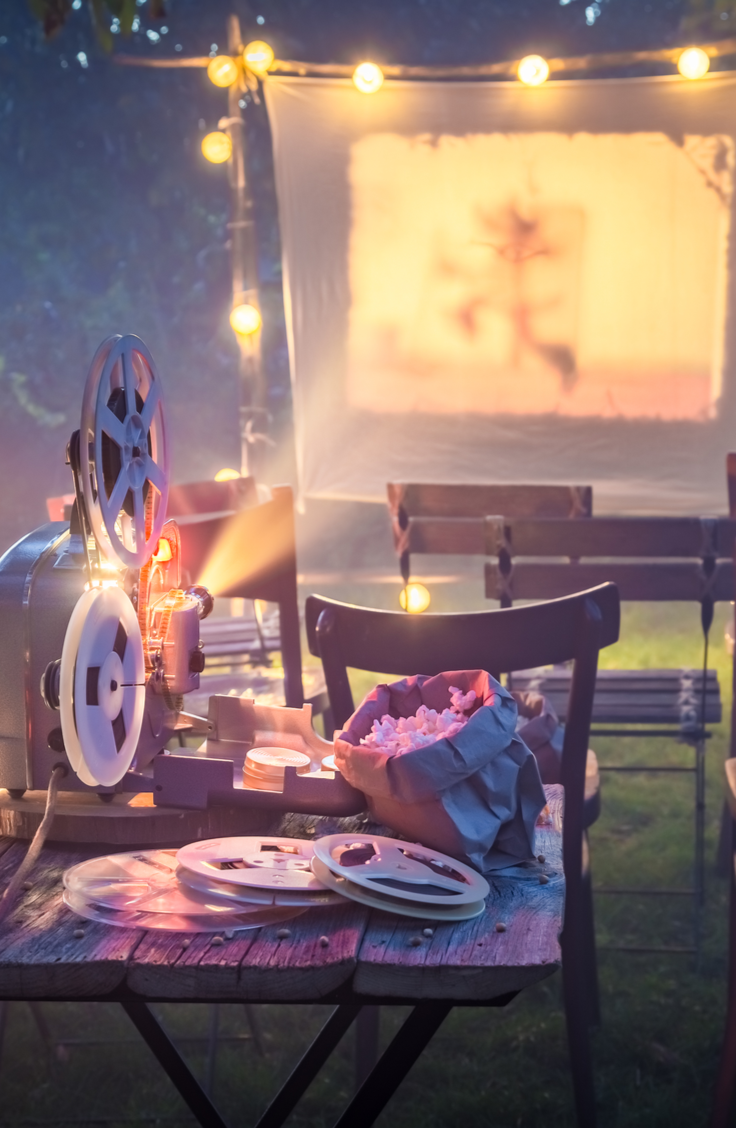 Backyard movies are a great way to bring family and friends together! One way to take your backyard movie to the next level is to incorporate a themed concession stand. That means having a menu that goes along with your theme and an actual concession stand! Check out these awesome concession stand ideas and have the best movie night ever!