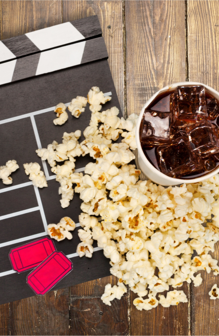 Backyard movies are a great way to bring family and friends together! One way to take your backyard movie to the next level is to incorporate a themed concession stand. That means having a menu that goes along with your theme and an actual concession stand!