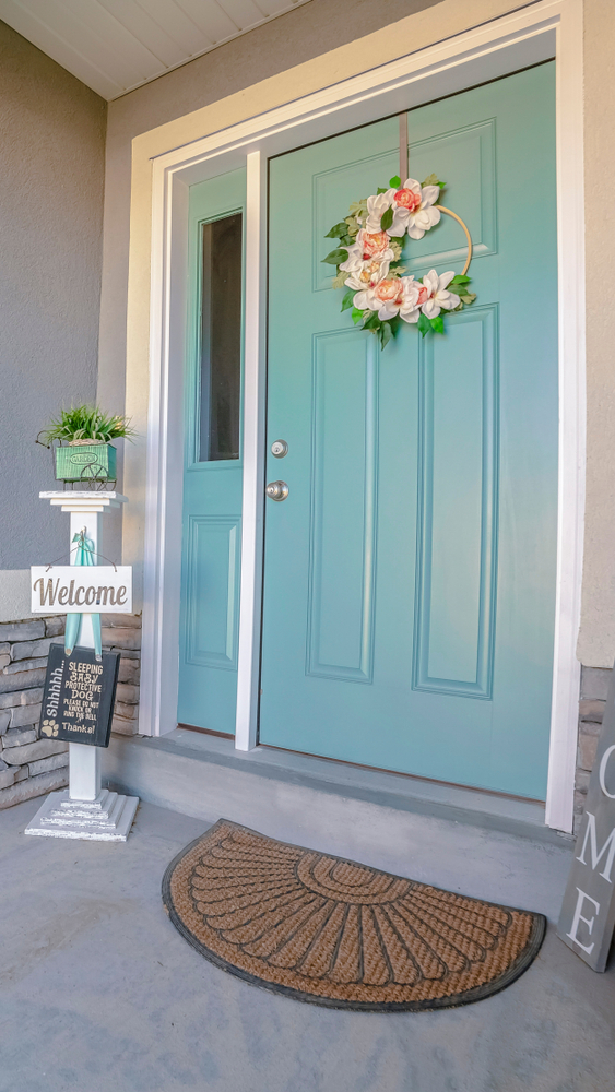Whether you're looking to increase your curb appeal, spruce up the entrance to your home, or simply update your porch decor for Spring or Summer, adding an accessory is a great way to accomplish them all. So, here are 10 fabulous front door decor ideas found on Etsy! You will love the way they look!