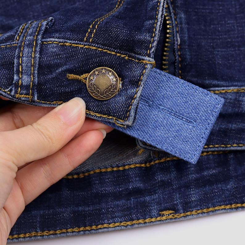 Learn how to reuse and repurpose old clothes. You can even buy things to help you wear your pants even if you don't quite fit into them anymore.