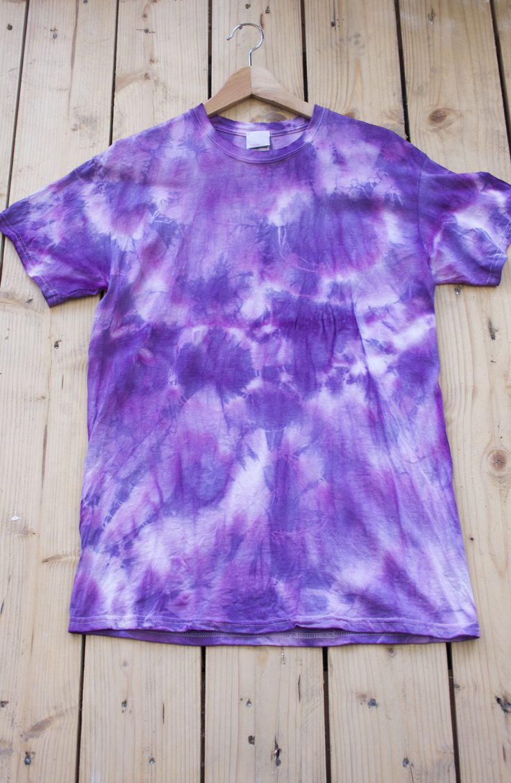 Learn how to reuse and repurpose old clothes. You will love turning your old shirts into cute new tie dye shirts!