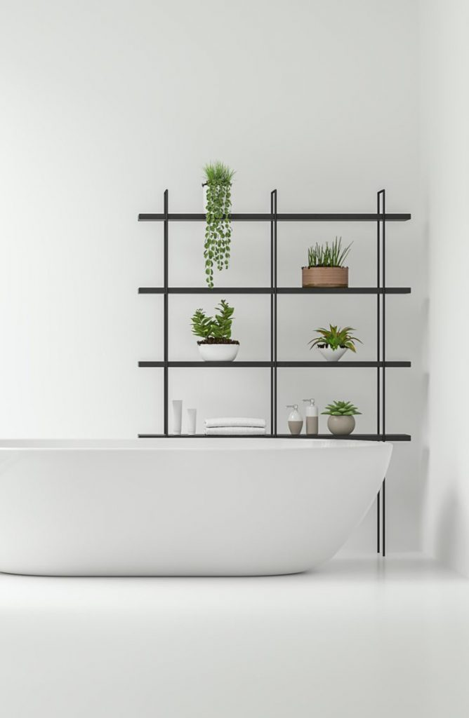 Don't you feel at peace looking at how organized and simple those plants are? With a few of these zen bathroom ideas, your bathroom will be the calmest room in your house.