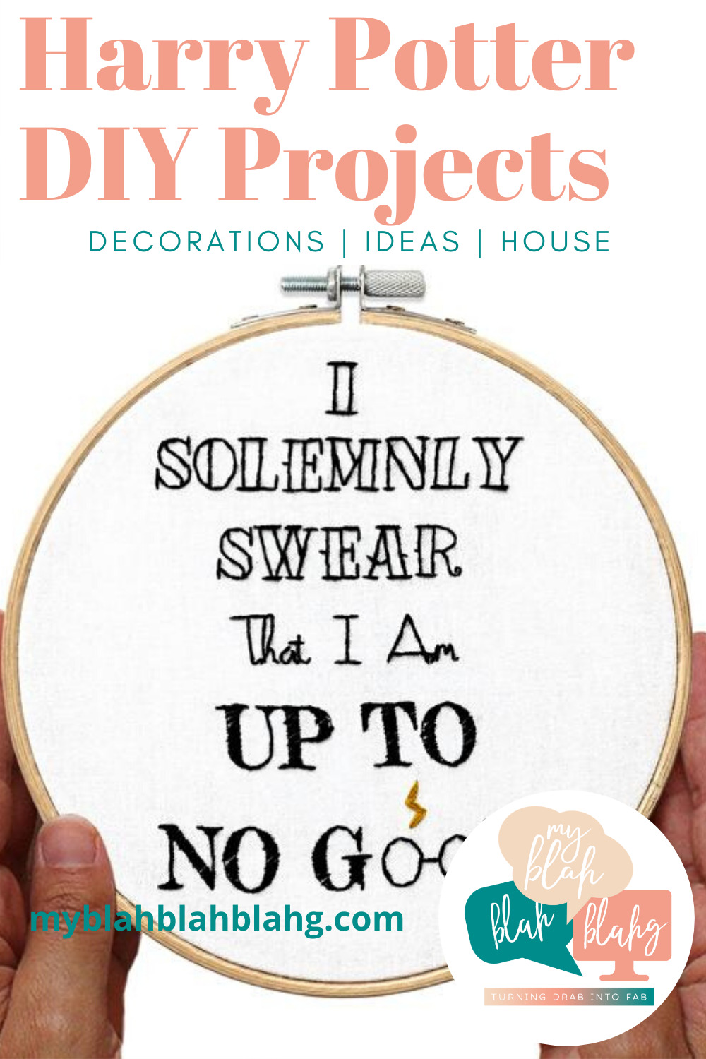 Harry Potter DIY projects are fun for anyone who loves Harry Potter! Plan a party, because you're going to want an excuse to make every single one! #myblahblahblahgblog #harrypotterdiyprojects