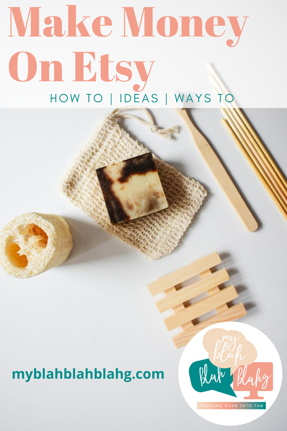 Make money on Etsy! If you have a craft you're passionate about, turn it into cash with your own Etsy shop. Here are the tips and tricks to help. #myblahblahblahgblog #makemoneyonetsy
