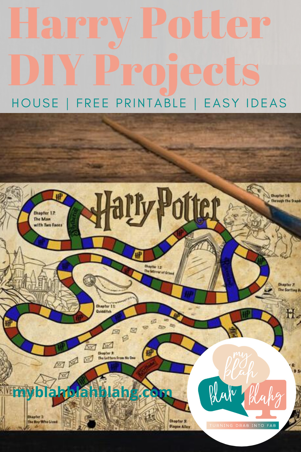 These siriusly magical Harry Potter DIY projects are fun for any sirius Harry Potter fan! Party stuff, jewelry, and stuff to make your friends' day. #myblahblahblahgblog #harrypotterdiyprojects