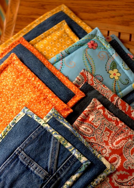 Ways To Repurpose Blue Jeans