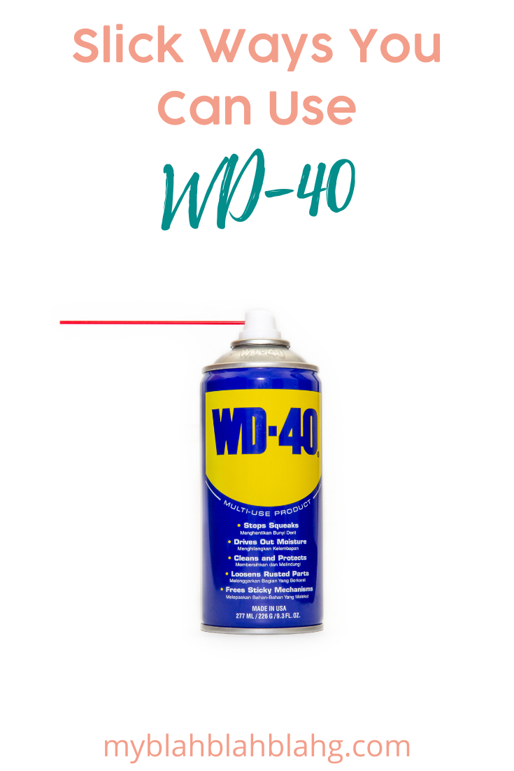 Myblahblahblahg.com is the best way to make your life easier! Stop sweating the small things and find ideas and tips to make daily tasks much simpler! Find out new ways you can use WD 40 that are clever and useful!