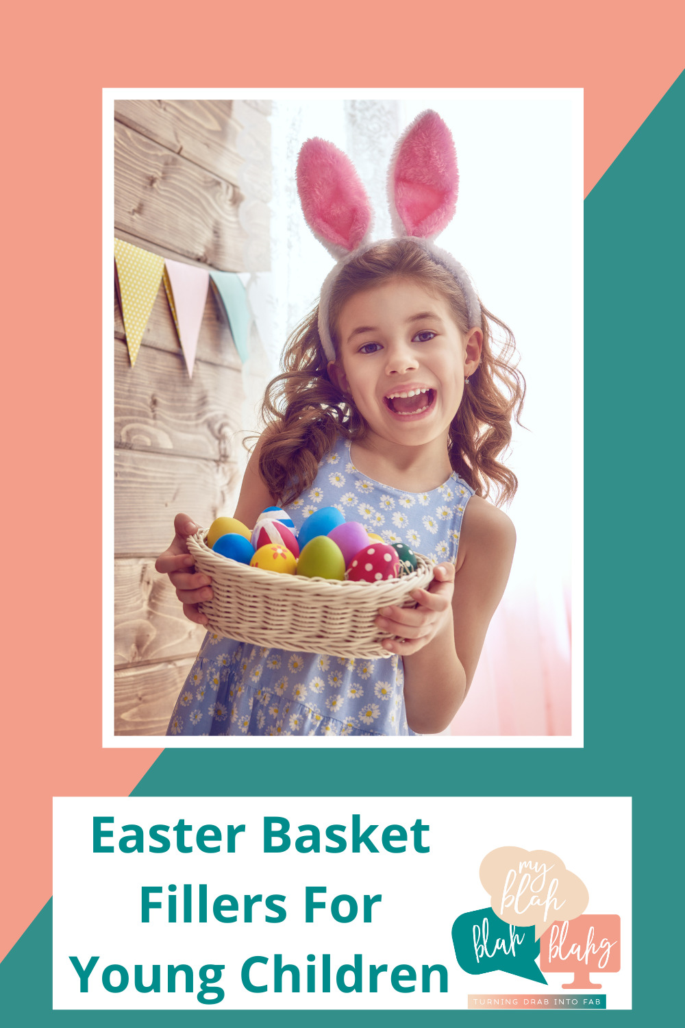 Myblahblahblahg.com has the best ideas to make your life easier and less stressful! Find the best tips for year-round fun! Get ready for Easter with fun baskets for your kids. These Easter basket fillers are perfect for toddlers and young kids!