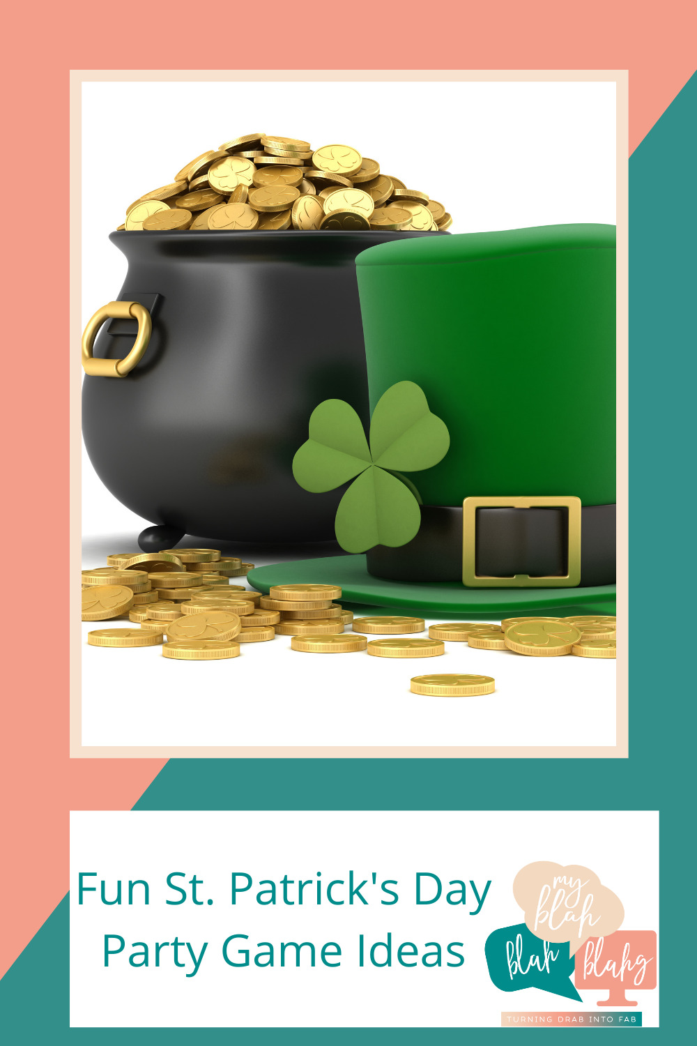 The luck of the Irish is with you thanks to Myblahblahblahg.com. That's right! Whether you are Irish or not, you are guaranteed to have a great St. Patrick's Day party with these game ideas.