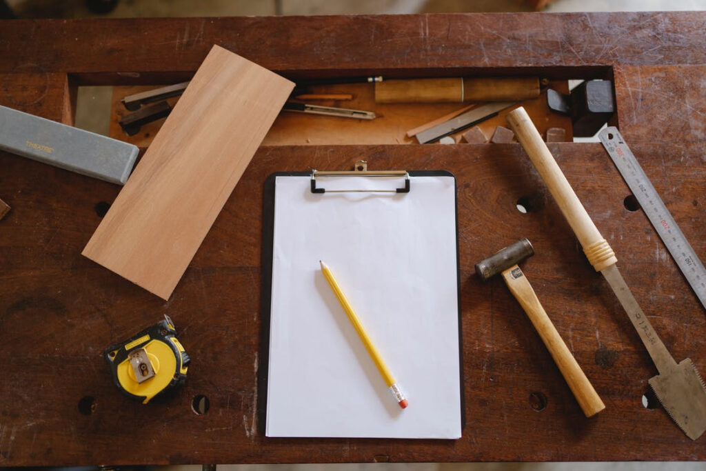 Tools required for flipping furniture for money