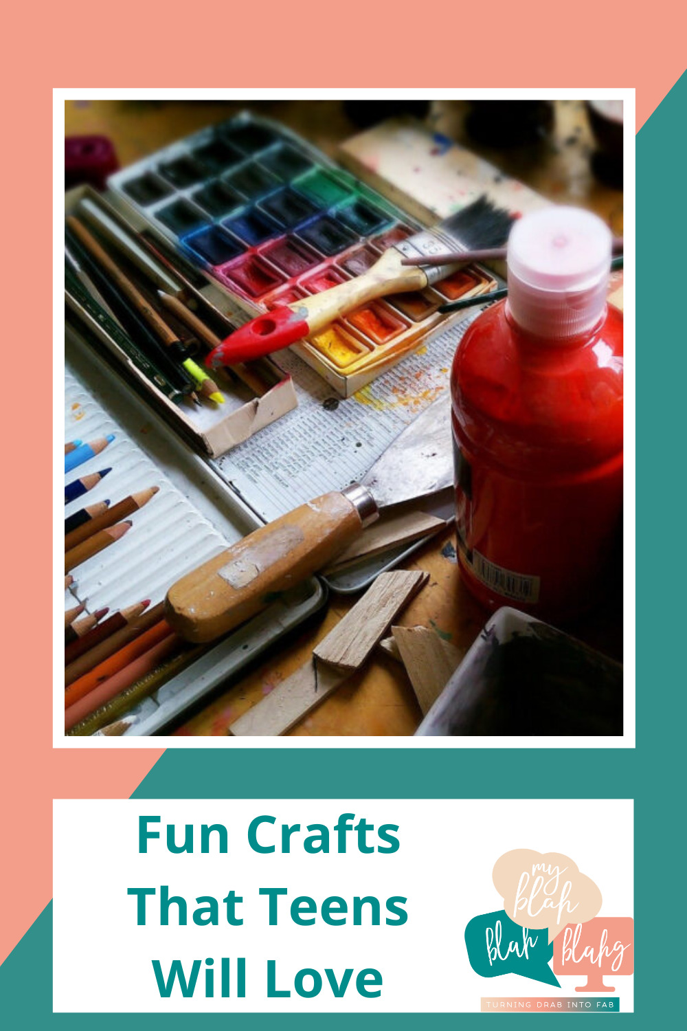 Myblahblahblahg.com has all you need from DIY projects to life hacks! Find out all of the best, creative ways to keep your kids busy. Teens will love making these fun and simple crafts!