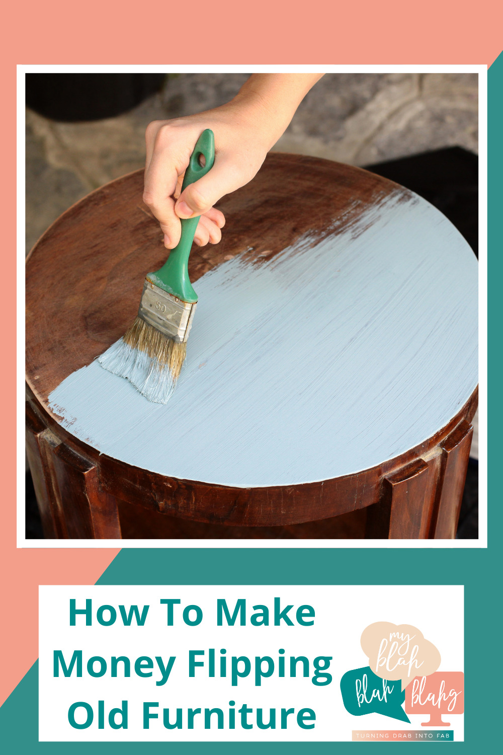Myblahblahblahg.com has all you need from DIY projects to life hacks! Find out all of the creative ways you can earn more money! Start your own small business today flipping old furniture and selling it!