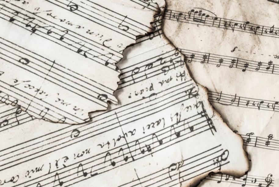 Music art pattern