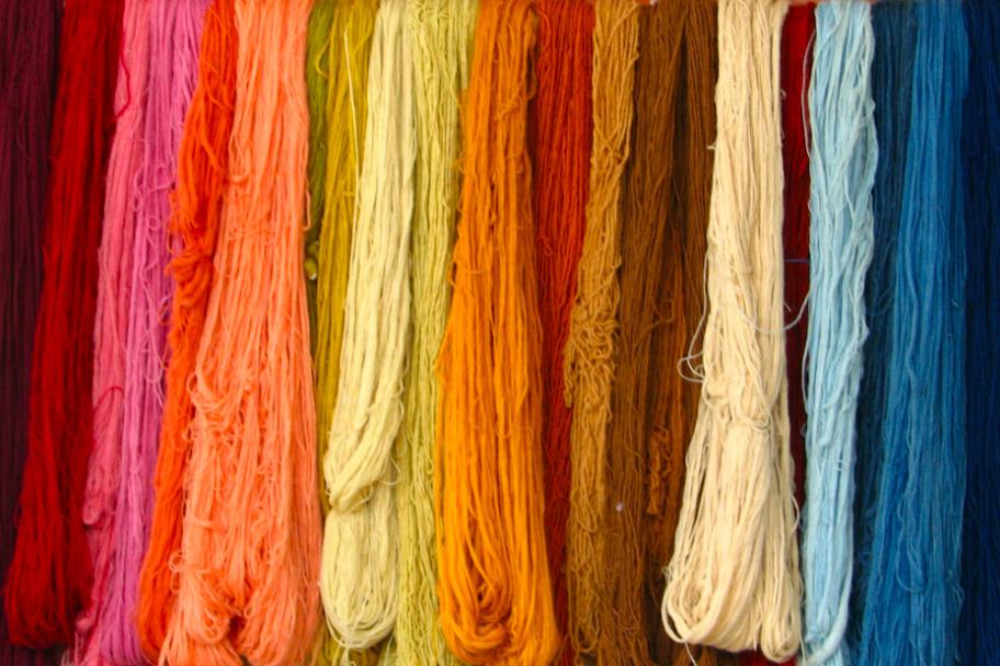 Yarn for string art patterns