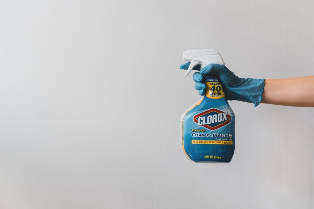 disinfectant spray recipe