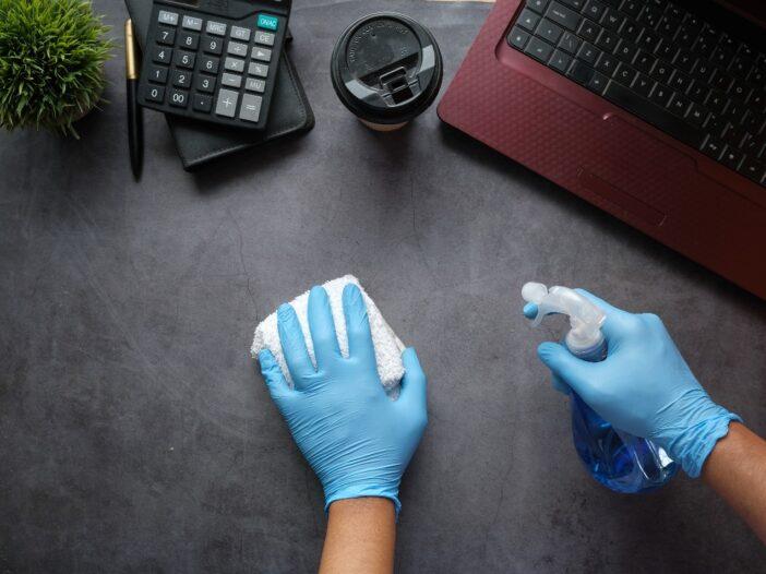 homemade disinfectant spray